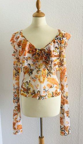 Stilvolle Bluse von Roberto Cavalli FREEDOM,Gr.46It,38/40D, Neuwertig!!!