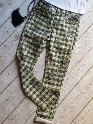 Toxik3 Spodnie z pięcioma kieszeniami Wielokolorowy Bawełna