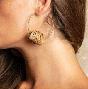 Antica Sartoria Clou d'oreille brun