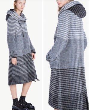TwinSet Simona Barbieri Wool Coat multicolored