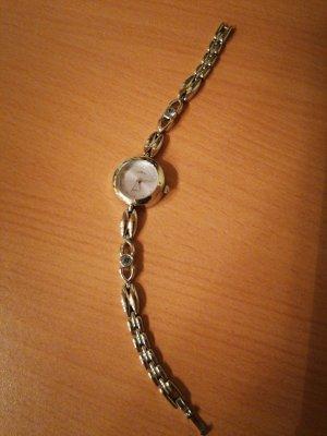Stilvolle silberne Uhr von Tempic