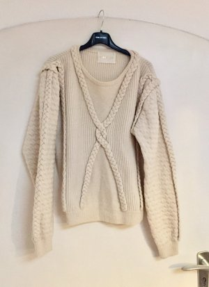 Stine Goya Cable Sweater Zopf Pullover Chunky Knit