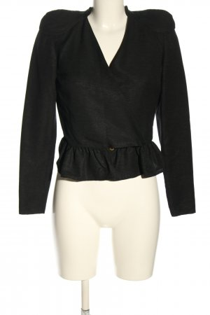 Stine Goya Blazer corto nero stile casual