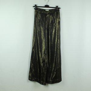 Stine Goya Marlene Trousers black-gold-colored