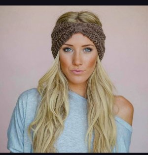 Fabric Hat light brown