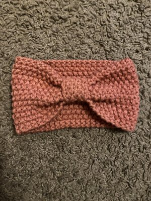 Knitted Hat rose-gold-coloured