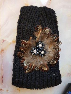 Orejeras negro-marrón