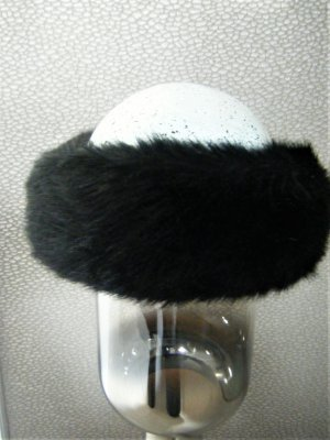 Mc Burn Earmuff black polyacrylic