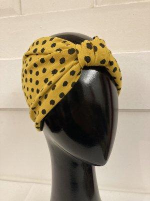 Fabric Hat black-yellow