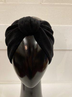 Chapeau en tissu noir