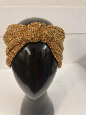 Cappello a maglia arancione chiaro-giallo neon Poliammide