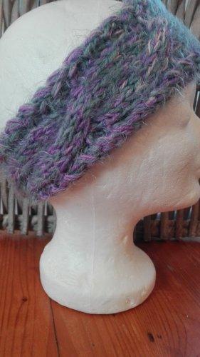 Handmade Knitted Hat mauve-purple