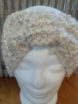 Handarbeit Cappello a maglia crema-beige chiaro