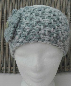 Handmade Sombrero de punto gris claro-gris