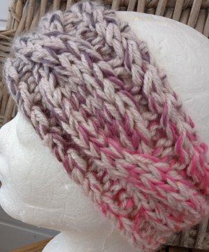 Handmade Sombrero de punto rosa empolvado