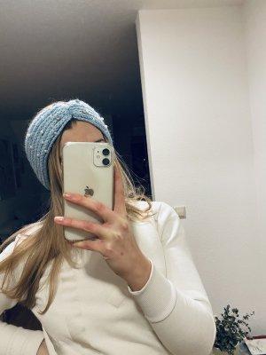 Stirnband in hellblau