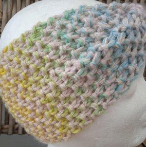 Handmade Sombrero de punto amarillo pálido