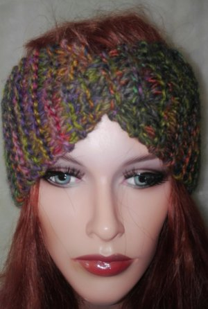 Stirnband Twist Handmade