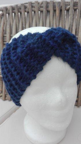 Handarbeit Cappello a maglia blu scuro
