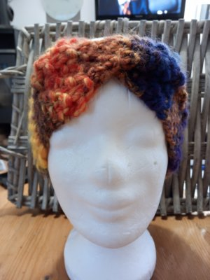 Handmade Knitted Hat lilac
