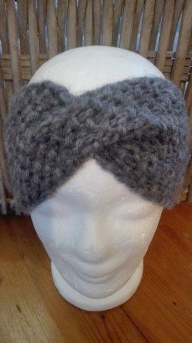 Handarbeit Knitted Hat grey