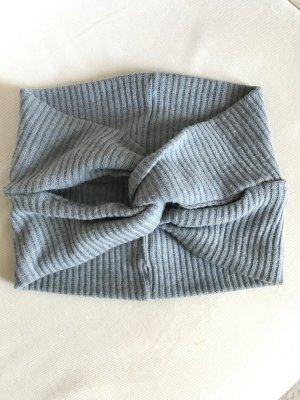 Cache-oreilles gris polyester
