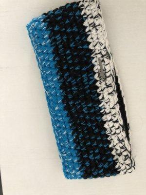 Ziener Orejeras negro-azul neón