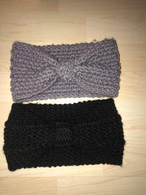 Copricapo nero-grigio scuro