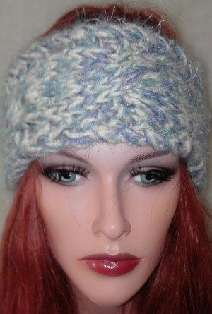 Stirnband Zopfmuster handmade