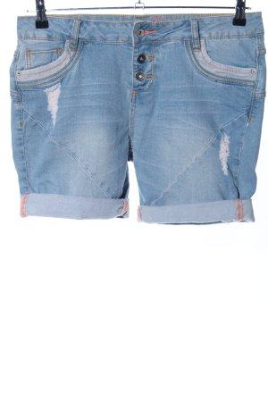 Stitch & Soul Denim Shorts blue casual look