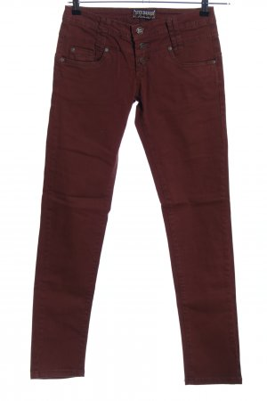 Stitch & Soul Slim Jeans braun Casual-Look