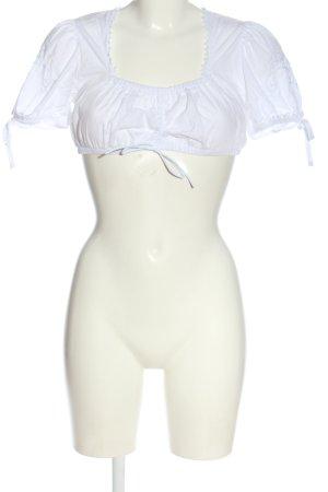 Stockerpoint Blusa tradizionale bianco elegante