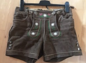Stockerpoint Pantalon traditionnel en cuir brun