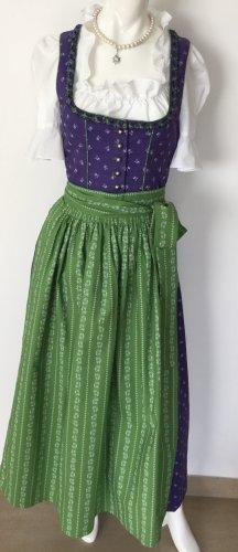Stockerpoint Dirndl bleu violet-vert