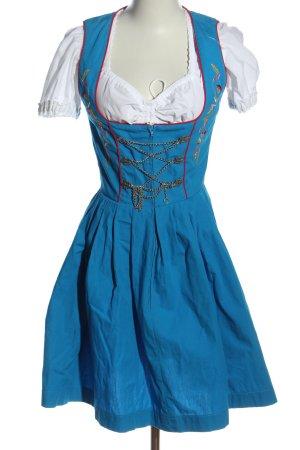Stockerpoint Dirndl blau-weiß klassischer Stil
