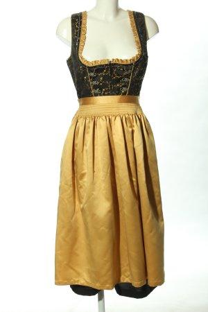 Stockerpoint Dirndl zwart-goud klassieke stijl