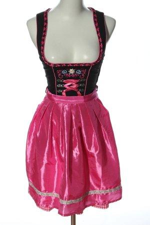 Stockerpoint Dirndl schwarz-pink Elegant