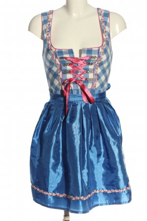 Stockerpoint Dirndl blue-white check pattern classic style