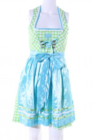 Stockerpoint Dirndl check pattern wet-look