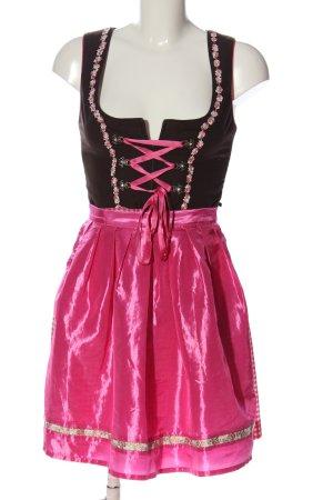 Stockerpoint Dirndl noir-rose élégant