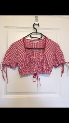 Stockerpoint Blusa tradizionale bianco-rosso