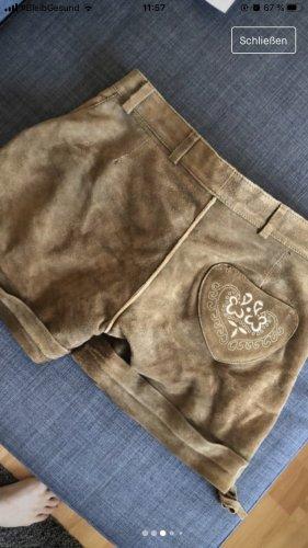 Stockerpoint Pantalone in pelle tradizionale multicolore