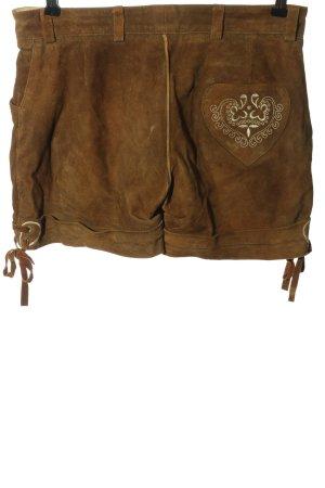 Stockerpoint Pantalone tradizionale marrone stile classico