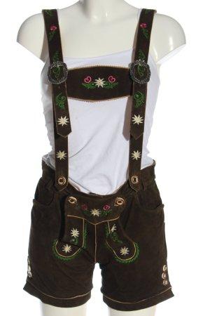 Stockerpoint Pantalon bavarois brun style classique