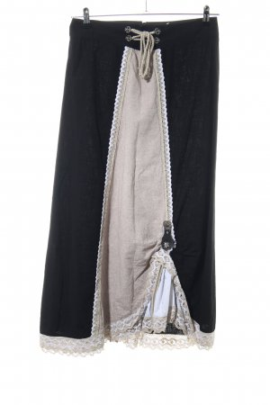 Stockerpoint Trachtenrock schwarz-creme Elegant