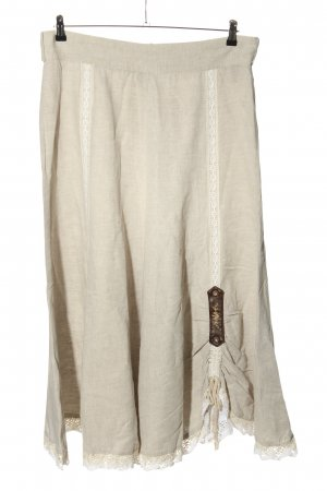 Stockerpoint Traditional Skirt light grey classic style