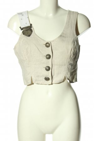 Stockerpoint Traditional Vest natural white elegant