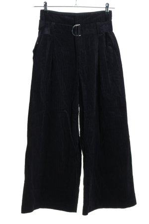 stockholm atelier & other stories Corduroy broek zwart casual uitstraling