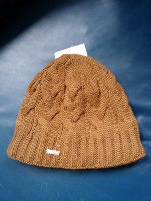 stöhr Knitted Hat brown wool