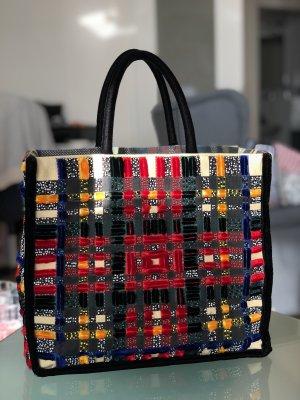 Stoff Handtasche
